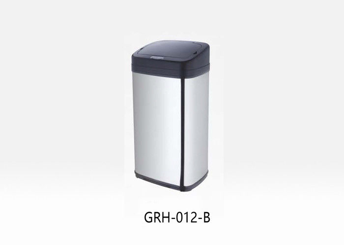 OEM Stainless Trash Can , Plastic Metal Metal Garbage Cans Easy To Clean
