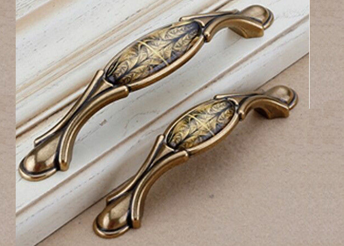 Dumb Bronze Ceramic Contemporary Cabinet Hardware For Wardrobe Door Drawer