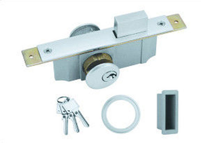 KFC / Bathroom Number Series Sliding Glass Door Security Locks Zinc Material